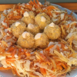 рецепт салата гнездо глухаря с квашенной капустой